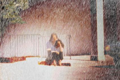 Sitting In The Rain
