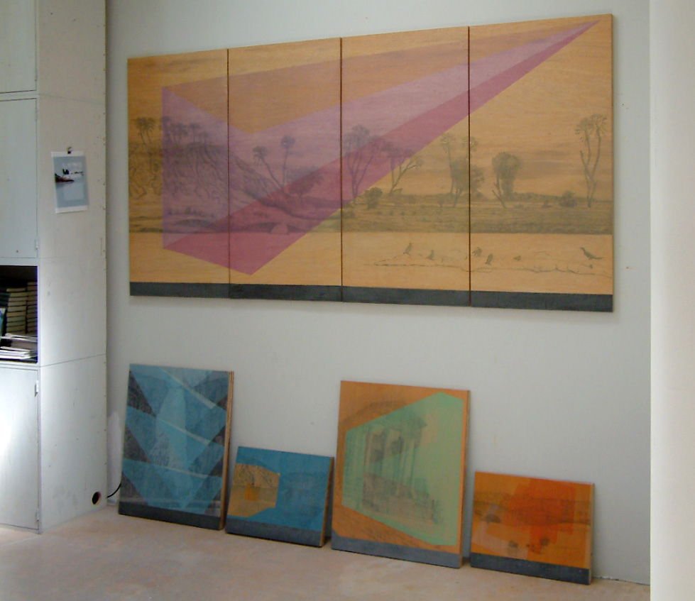 Nieuw werk van Elshuis in atelier